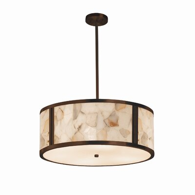 Conovan 6-Lights Drum Pendant Finish: Dark Bronze