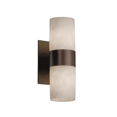 Genaro 2-Light Wall Sconce Finish: Dark Bronze