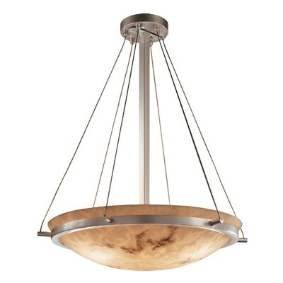 Keyon 6-Light Inverted Pendant Metal Finish: Matte Black