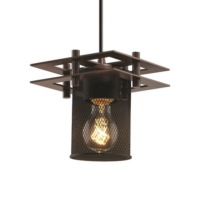 Bennett 1-Light Mini Pendant Finish: Brushed Nickel