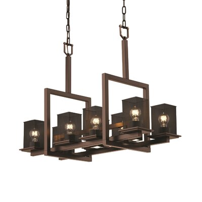 Bennett 11-Light Kitchen Island Pendant Finish: Matte Black
