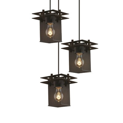 Bennett 3-Light Pendant Finish: Brushed Nickel