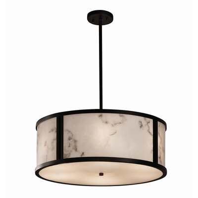 Keyon 6-Light Drum Pendant Finish: Dark Bronze
