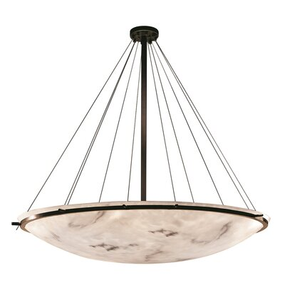 Keyon 16-Light Bowl Pendant Finish: Dark Bronze