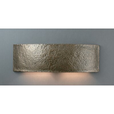 Justice Design Group Ambiance Closed Top Arc Outdoor Wall Sconce - Finish: Greco Travertine at Sears.com