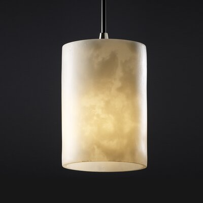 Jacinto 1-Light 40W Mini Pendant Finish: Antique Brass