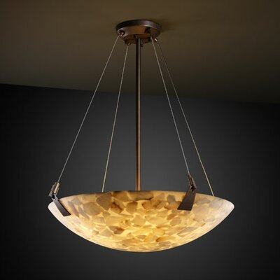 Conovan 3-Light Inverted Pendant Metal Finish: Dark Bronze