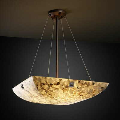 Conovan 3-Light Inverted Pendant Metal Finish: Brushed Nickel