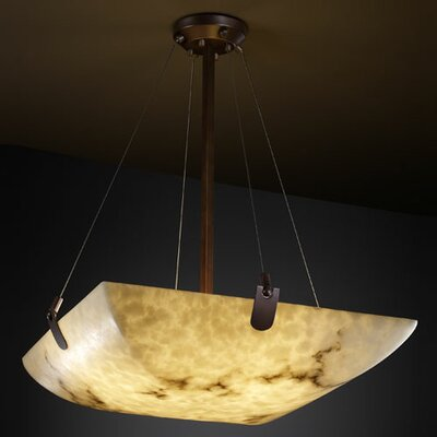 Keyon 3-Light Inverted Pendant Metal Finish: Dark Bronze