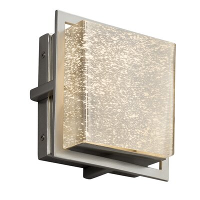 Brayden Studio Luzerne Square Outdoor Flush Mount