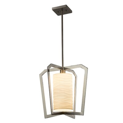 Salaam 1-Light Foyer Pendant Finish: Brushed Nickel