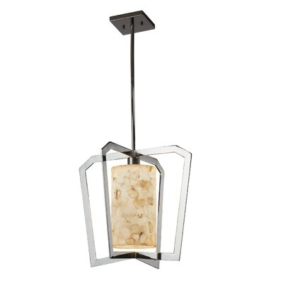 Conovan 1-Light LED Foyer Pendant Finish: Polished Chrome