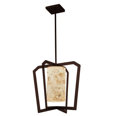 Conovan 1-Light LED Foyer Pendant Finish: Dark Bronze