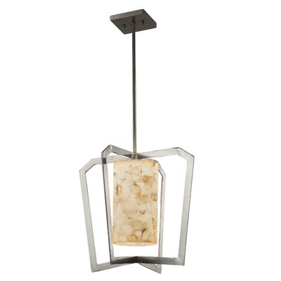 Conovan 1-Light Foyer Pendant Finish: Brushed Nickel