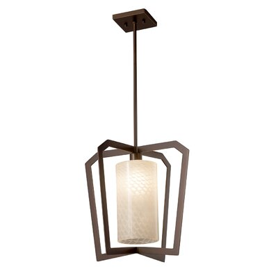 Luzerne 1-Light LED Foyer Pendant Finish: Dark Bronze
