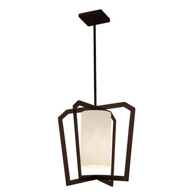 Genaro 1-Light Foyer Pendant Finish: Dark Bronze