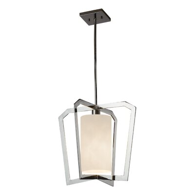Genaro 1-Light Foyer Pendant Finish: Polished Chrome