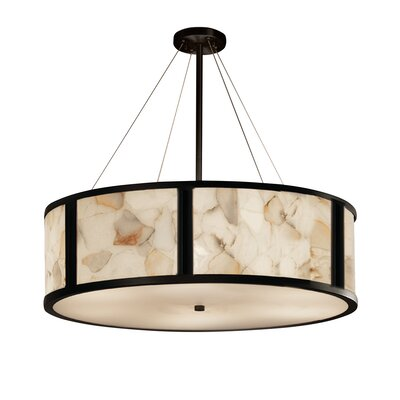 Conovan 8-Light Drum Pendant Finish: Dark Bronze