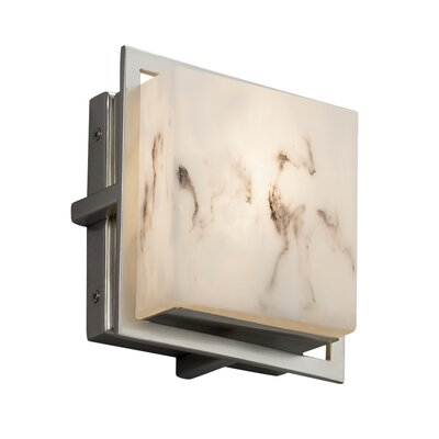 Brayden Studio Keyon Square Outdoor Flush Mount
