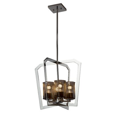 Bennett 4-Light Foyer Pendant Finish: Brushed Nickel
