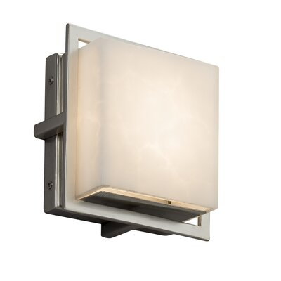 Brayden Studio Genaro Square Outdoor Flush Mount