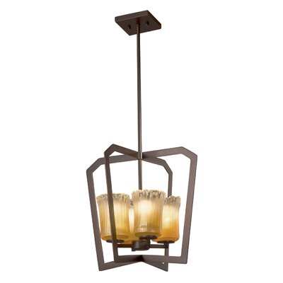 Kelli 4-Light LED Foyer Pendant Finish: Dark Bronze