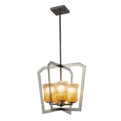 Kelli 4-Light LED Foyer Pendant Finish: Brushed Nickel