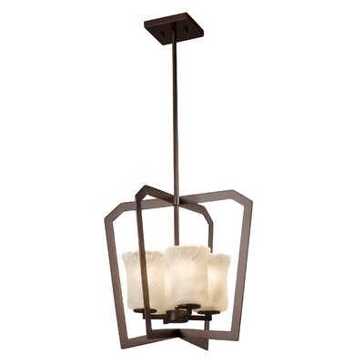 Kelli 4-Light Foyer Pendant Finish: Dark Bronze