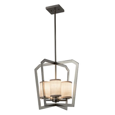 Kenyon 4-Light Foyer Pendant Finish: Matte Black
