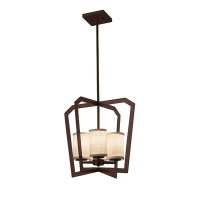 Kenyon 4-Light Foyer Pendant Finish: Dark Bronze