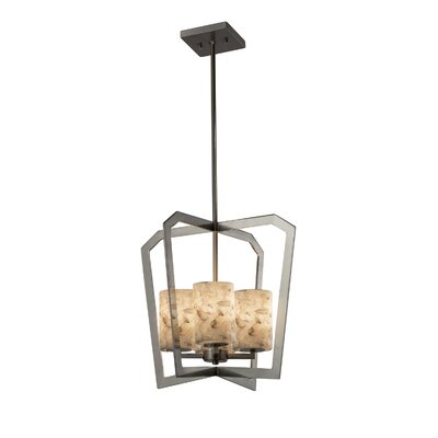 Conovan 4-Light Foyer Pendant Finish: Brushed Nickel