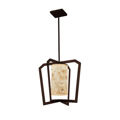 Conovan 1-Light Foyer Pendant Finish: Dark Bronze