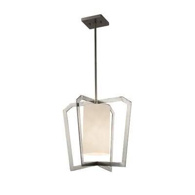 Genaro 1-Light Foyer Pendant Finish: Brushed Nickel