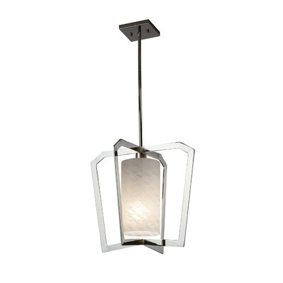 Luzerne 1-Light Foyer Pendant Finish: Polished Chrome