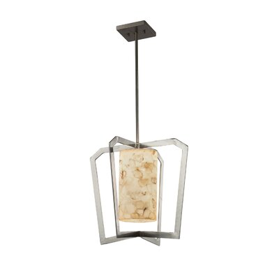 Conovan 1-Light Foyer Pendant Finish: Matte Black