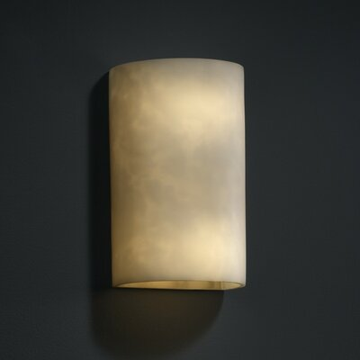 "Justice Design Group Clouds 2 Light Wall Sconce - Size: 12.5"" H x 7.75"" W x 7.75"" D at Sears.com"