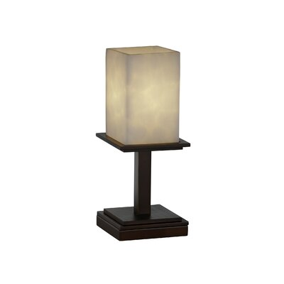 Justice Design Group Clouds Montana One Light Portable Lamp Table Lamp - Metal Finish: Brushed Nickel at Sears.com