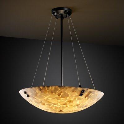 Conovan 3-Light Inverted Pendant Metal Finish: Matte Black