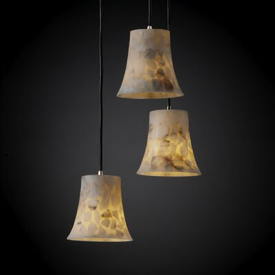 Salsbury Contemporary 3 Light Pendant Finish: Dark Bronze