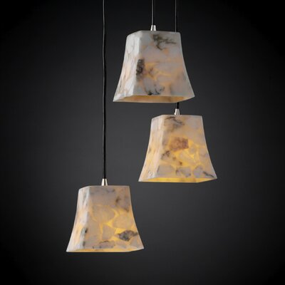 Salsbury 3 Light Pendant Finish: Brushed Nickel