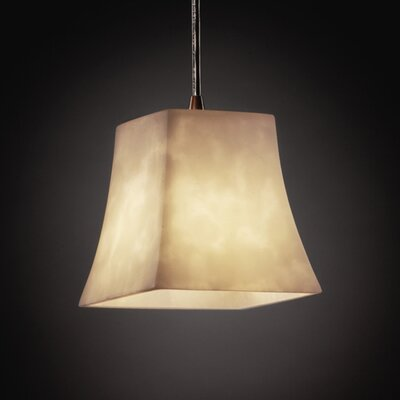 Jacinto Modern 1-Light Mini Pendant Finish: Antique Brass
