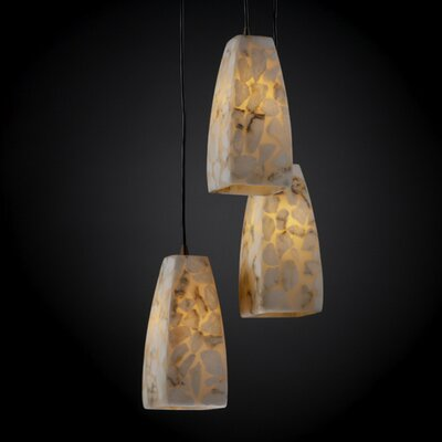 Salsbury Modern 3 Light Pendant Finish: Brushed Nickel