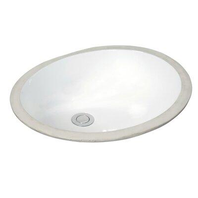 Trough Undermount Bathroom Sink