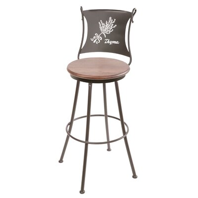 Trestle 30 Swivel Bar Stool