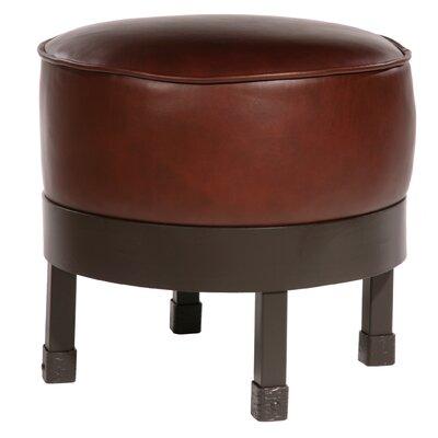 Cedarvale Leather Ottoman