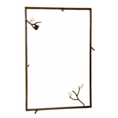 Pine Large Wall Mirror