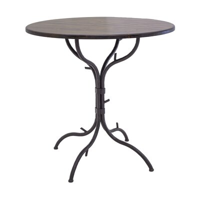 Woodland 40 Pub Table Tabletop Size: 25