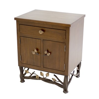 Enchanted Forest End Table with Storage