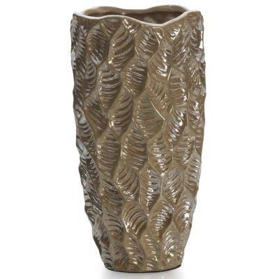 Mikasa Quartz Lustre Leaf Vase 5110892