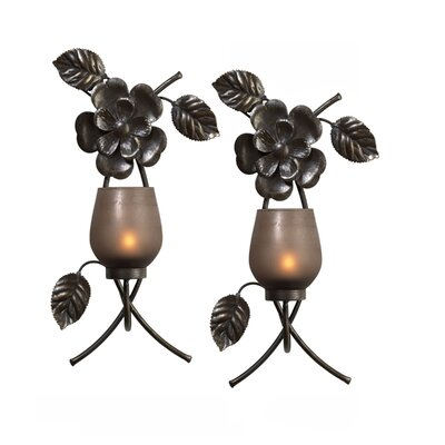 Mikasa Rustic Flowers Sconce 5106102